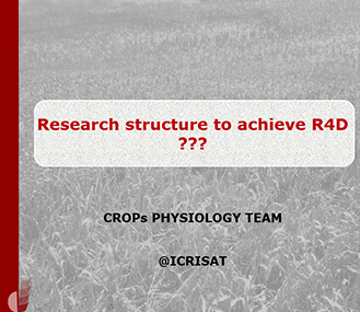 Research structure to achieve R4D ???