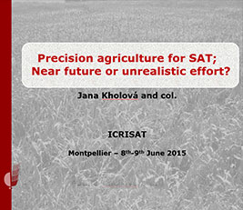 Precision agriculture for SAT