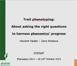 Trait phenotyping